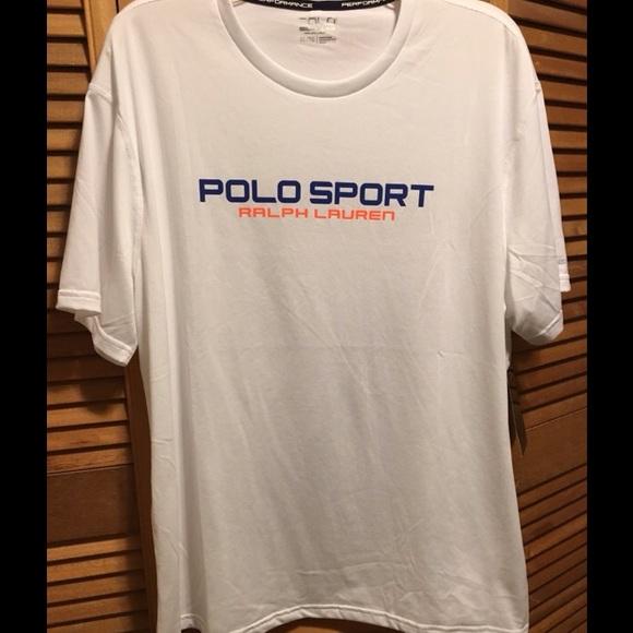 ab81db7c Ralph Lauren Shirts | Polo Sport White Performance Shirt | Poshmark