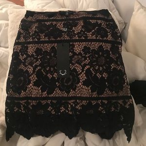 For Love and Lemons Dresses & Skirts - For love and lemons black skirt
