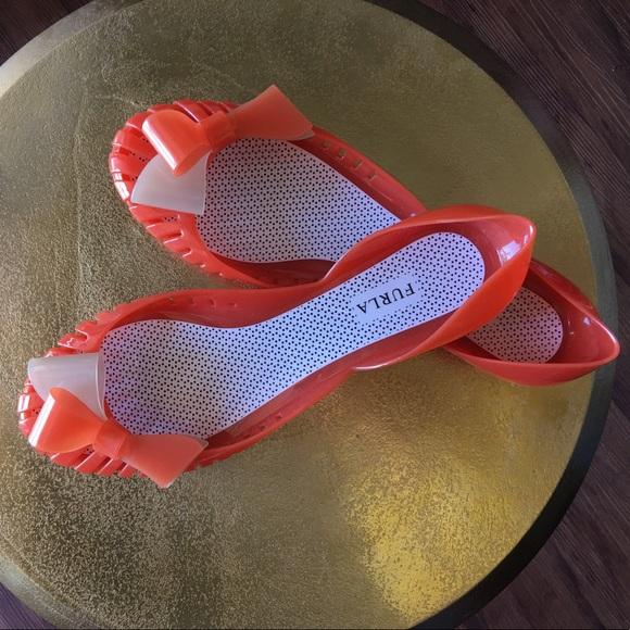 3ac8fdfb7597 Furla Shoes - 👠SHOE SALE👠Furla jelly ballet flats