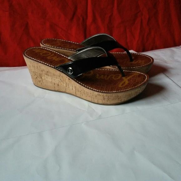 Sam Edelman Sam Edelman Romy Cork Wedge Sandals 10m From