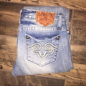 REROCK for Express Flare Jeans