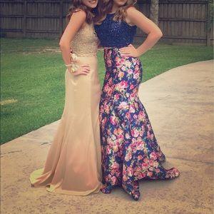 Angela & Alison Dresses & Skirts - Two piece formal dress size 8