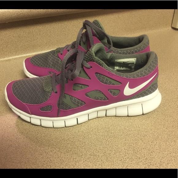 Nike free run 2 black anthracite