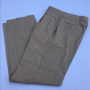 Hickey Freeman Other - HICKEY FREEMAN 100% Wool pleated pants/slacks - 32