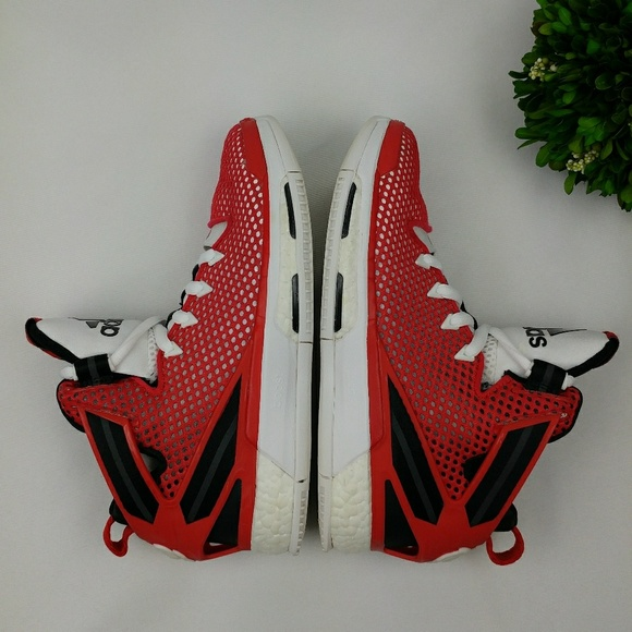 Adidas - Adidas Derrick Rose Boost 6 Red Shoes Men's from ...