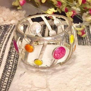 Jewelry - ✨SALE! Silver Tone Chunky Bracelet