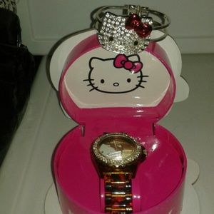 TWO Hello Kitty watches/bracelets - NEW - Sanrio