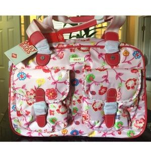 Oilily Other - FINAL!!! Oilily large carry all great diaper bag!