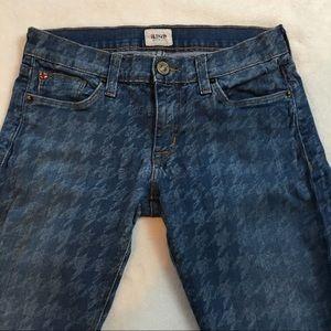 Hudson Krista Super Skinny Print Jeans