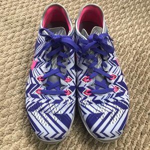 Nike Free 5.0 Running Sneakers sz 7.5
