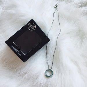{swarovski} 🌿 lola & grace blue crystal necklace