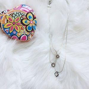 {brighton} 🌿 layered pendant necklace