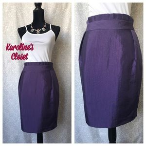 ANTONIO MELANI Dresses & Skirts - Antonio Melani Purple Skirt