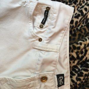 Dolce & Gabbana destroyed denim & satin tux jeans