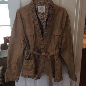 Solitaire Jackets & Blazers - Solitaire Polyurethane jacket