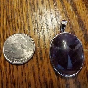 Jewelry - BRAND NEW SS LARGE HEAVY PENDANT