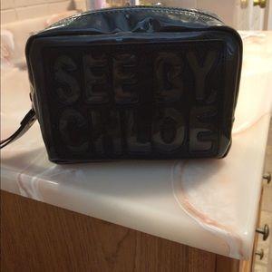 See by Chloe makeup bag