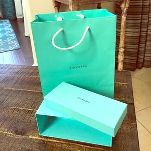 Tiffany & Co Bag and Box