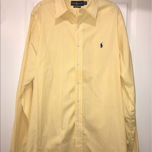 Ralph Lauren Custom Fit Button Down