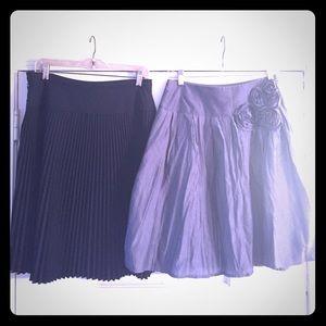 Dresses & Skirts - Grey and Black skirts 💥💥