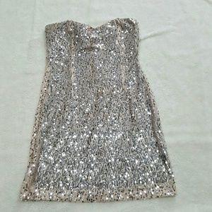 Trixxi Dresses & Skirts - [Trixxi] Fully Sequined Mini Dress