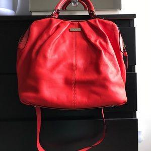 Kate spade ♠️ orange leather bag