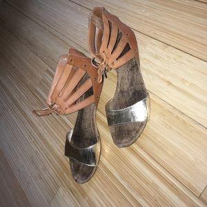 Dolce Vita gold sandals