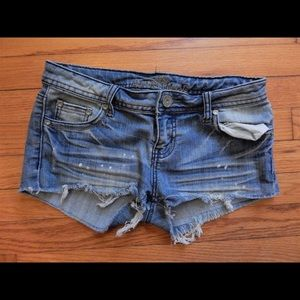 Almost Famous Denim Jean Cutoff Shorts Sz 5