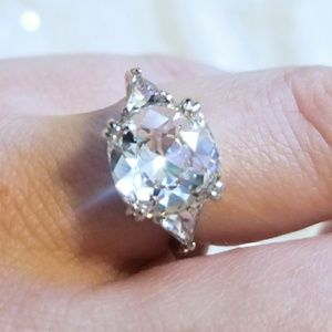 Jewelry - 💍 2 for $20 GORGEOUS sterling ring s.7 NWOT