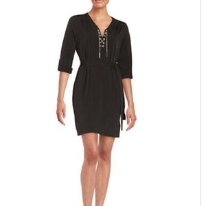 Michael Kors Dresses & Skirts - MICHAEL MICHAEL KORS Chain Tie Shirt Dress