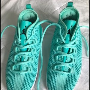 4f846ab8db2 Air Jordan Shoes - Air Jordan Reveal Youth Basketball shoes turquoise