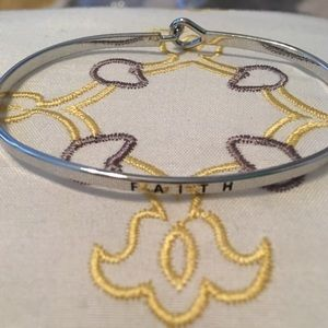 """""""FAITH"""" Single Bracelet"""