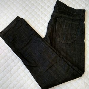 Old Navy Other - Old Navy flannel lined black jeans 34
