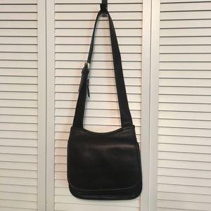 Jennifer Moore Black Saddlebag Handbag