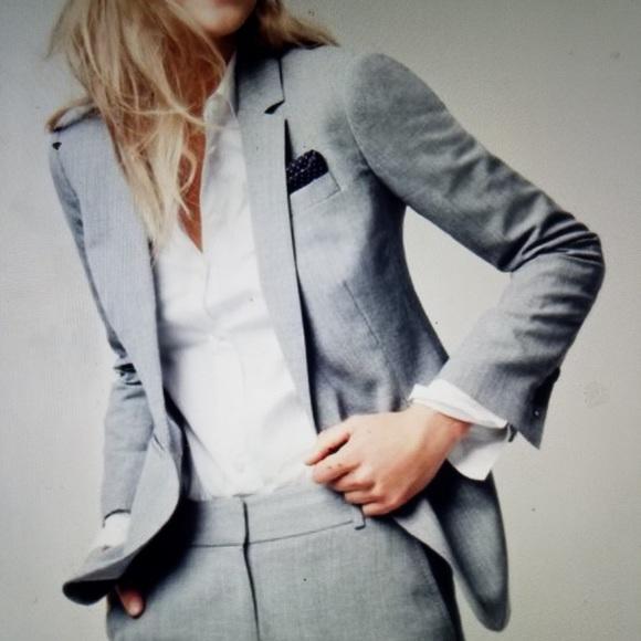 benetton Jackets & Coats - United Colors of Benetton blazer in light gray