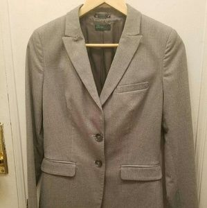 benetton  Jackets & Blazers - Benetton blazer in light gray as new