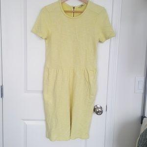 Jack Wills Dresses & Skirts - Jack Wills Pastel Yellow Knit Dress