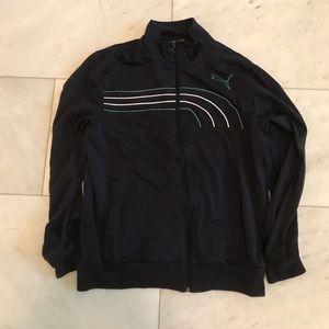 Classic Blue Puma Track Jacket