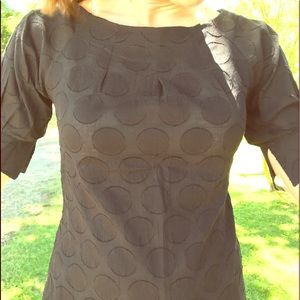 Wish black shirt with circle pattern