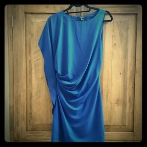Super flattering royal blue dress