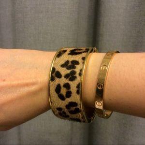 C Wonder animal print bracelet