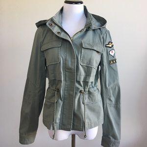 Sebby Jackets & Blazers - NWT Sebby patch detail utility jacket