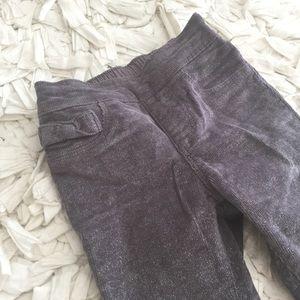 Gymboree Other - Sparkly grey corduroys