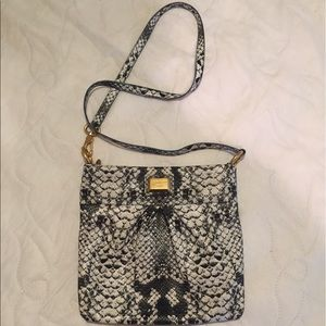NWOT Marc by Marc Jacobs python crossbody