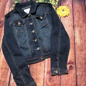 Justice Other - SALE Girl's size 14 Justice Jean Jacket 🌼