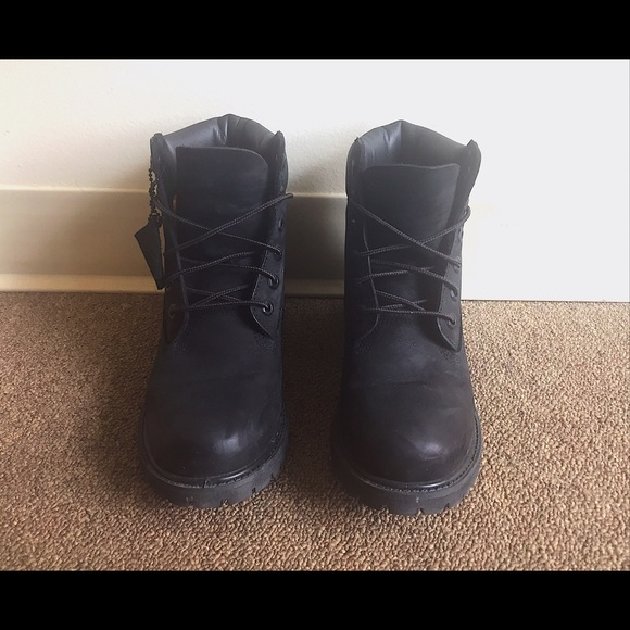 Timberland Shoes   Women And Men Black