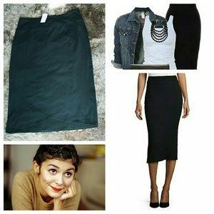 J. Jill Dresses & Skirts - NWT!  j.jill black Skirt