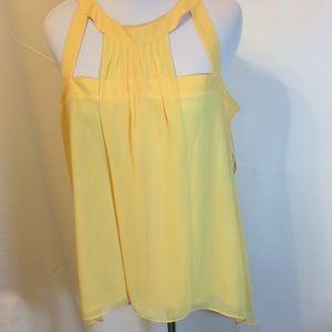 Bisou Bisou Yellow Top