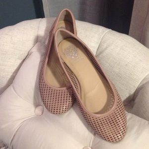 Vince Camuto Perforated Flats
