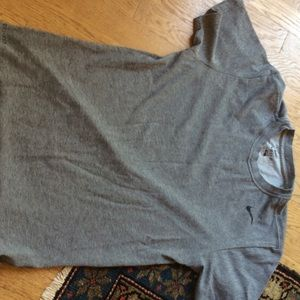 Nike Other - Nike cotton Dri Fit gray tee shirt size S